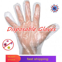 Transparent Multifunctional Disposable Gloves Portable Anti-skid Non-toxic Healthy Food Glove Restaurant Household Cleaning Tool - Kesheng special effect equipment