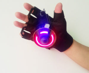 Red and Green color laser glove, special effect stage light, Christmas, - Kesheng special effect equipment