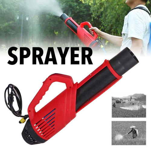 Home Cleaning Gadgets Remote Control Agricultural Sprayer Electric Portable Blower Atomizer Machine Public Places Disinfection
