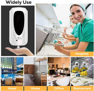 1000ml Soap Dispenser Automatic Smart IR Sensor Induction stand floor Hand Sanitizer Pump Detergent Dispenser for Public place