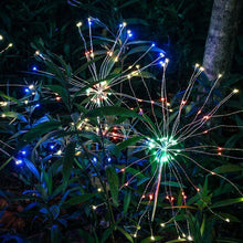 Solar Light Outdoor Fireworks Shape Lights with 120 LED Garden Lights Pathway Fairy LED Suit  for Garden Fence Patio Garage