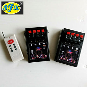 Event Celebration Pyrotechnics 8 Cues 8 Channels Remote Control Fireworks Firing System