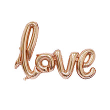 1PC Love Letter Balloons Large Foil Balloon Home Garden Decor&Birthday/Wedding Party Decoration Valentines Day Balloons Supplies - Kesheng special effect equipment