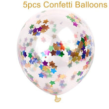 2inch Happy Birthday Party Confetti Balloon Inflatable Balloon Birthday Decorations 30 40 50 Anniversary Party Favors - Kesheng special effect equipment