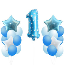 1Set Balloons 1st/2nd Birthday Party Balloons Party Favors Kids Toys DIY Birthday/Wedding Party Decoration Baby Shower Supplies - Kesheng special effect equipment