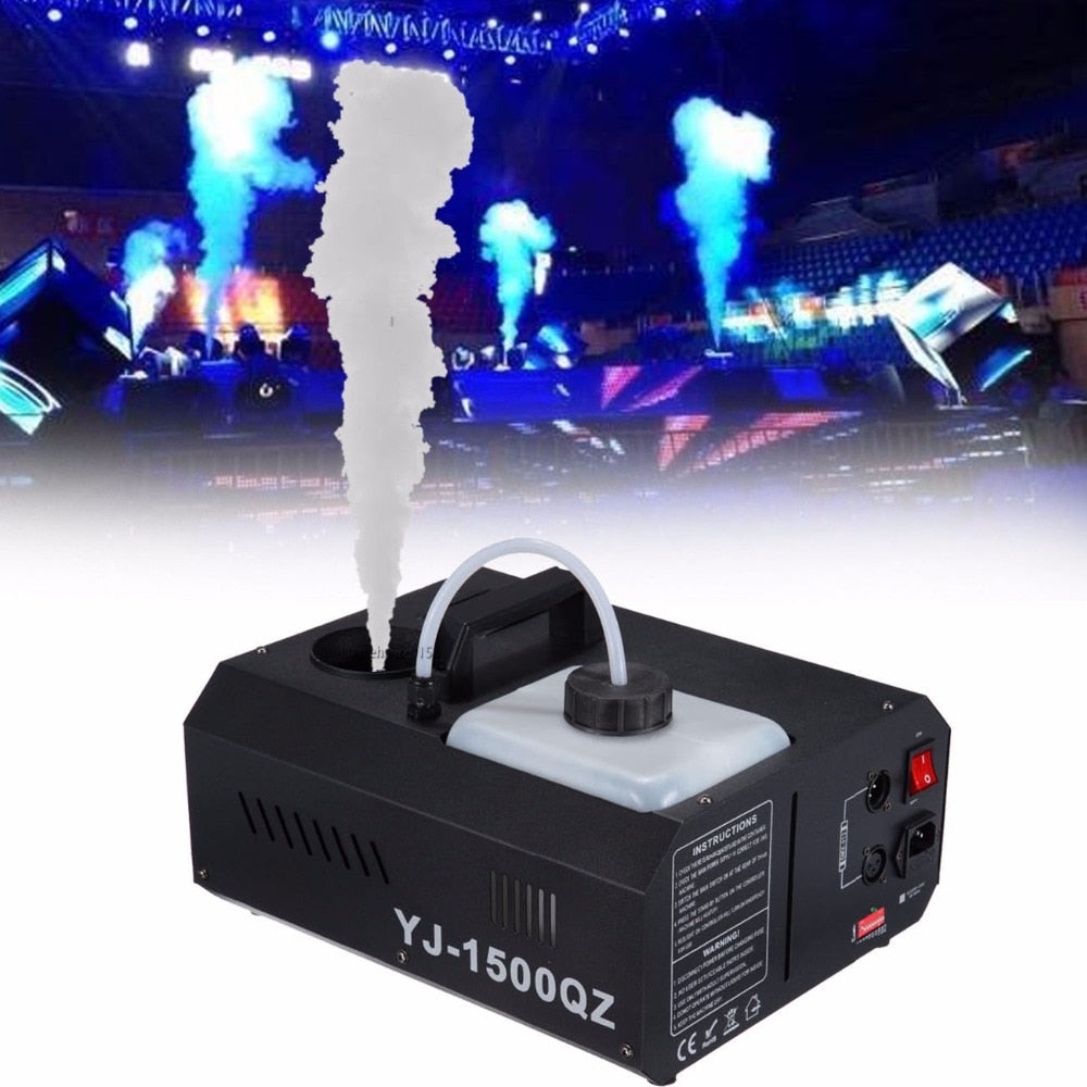 (Ship from US) 1500w Smoke Sprayer Fogger Machine Up spray Wireless DMX Control+Remoter - Kesheng special effect equipment