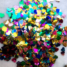 Heart Round Stars Table Confetti Sprinkles Birthday Party Wedding Decoration Sparkle Gold Colorful Paper Confetti Wedding Supply - Kesheng special effect equipment