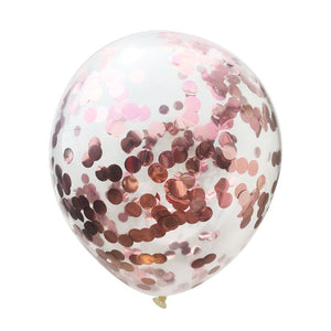 5PCS 12inch&18inch Large Confetti Air Balloons Latex Ballon Birthday Party Balloons Home Decor Wedding Ballons Party Supplies - Kesheng special effect equipment