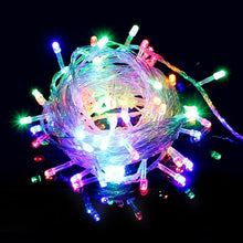 LED Light 10M 220V LED String Light Fairy Lamp Strip Lights Home Curtain Fixtures Party Supplies Holiday Decor Festival Lanterns - Kesheng special effect equipment