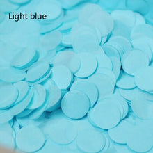 10g Per Bag 1 Inch Bright Colors Round Tissue Paper Confetti Sprinkles for Balloon Wedding Birthday Party Table Decorations - Kesheng special effect equipment