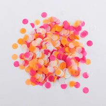 10/30g 1cm Rose Gold Confetti Metallic Pink Gold Paper Circle Confetti Wedding Birthday Party Confetti Baby Shower Decoration - Kesheng special effect equipment