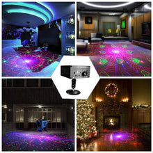 5 Holes 120 Patterns RGB Laser Light DJ Projector Disco LED Stage Effect Lighting for Home Party Entertainment - Kesheng special effect equipment