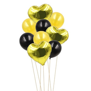 9PCS 12inch&18inch Creative Multi Air Balloons Helium Confetti Balloon Decoration Wedding Festival Happy Birthday Party Supplies - Kesheng special effect equipment