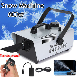 Remote + Wire control 600W snow machine wedding snow machines professional DJ equipment 100% new - Kesheng special effect equipment