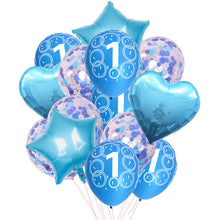 Baby Boy Girl 1st Birthday Decoration Balloons Confetti Latex Ballon It's A Boy/girl 1 Year Old Birthday Party Decor Baby Shower - Kesheng special effect equipment
