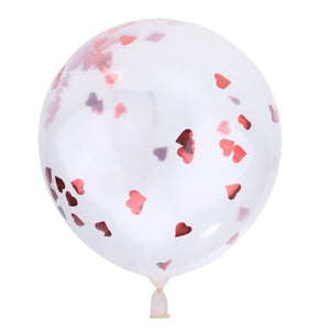 10Pcs 12inch Confetti Balloons Latex Balloons for Party Wedding Decoration Kids Birthday Party Event Ceremony Supplies - Kesheng special effect equipment