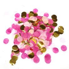 10g/bag Mix Color Rose Gold Mini Round PVC Confetti Dots Throwing Birthday Party Baby Shower New Year Wedding Decorations E - Kesheng special effect equipment