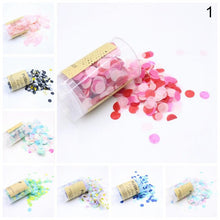 1 PC Confetti Push Container Birthday Party Favor Supplies Wedding Decoration - Kesheng special effect equipment
