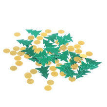 20g Christmas Sequin Confetti Shiny Xmas Tree Star Red Green Gold Festival Party Confetti Sprinkles Christmas Decoration - Kesheng special effect equipment