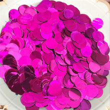2.5cm Mixed Colors Metallic Rose Gold Round Confetti Dots Filling Balloons Baby Shower Birthday Wedding Engagement Decorations - Kesheng special effect equipment