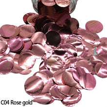 10g Per Bag Star Metallic Round Foam Tissue Paper Confetti Sprinkle For Wedding Birthday Party Table Clear Balloon Decoration 9z - Kesheng special effect equipment