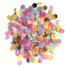 Mini Round Confetti for Balloon birthday Baby Shower Mixed Colors  Wedding Engagement Party Decorations   2.5cm 20g/bag - Kesheng special effect equipment