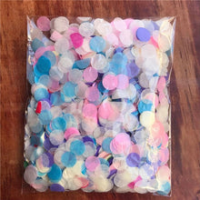 2packs Bright Colors Round Tissue Paper Confetti Sprinkles for Balloon Wedding Birthday Party Table Decorations - Kesheng special effect equipment