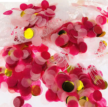 Wedding Confetti 10g1 & 2.5cm Bright Round Tissue Paper Confetti Sprinkles For Balloon Wedding Birthday Party Table Decorations - Kesheng special effect equipment