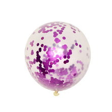 1 year girl baby birthday balloons wedding ballons girls party decorations ballon  streamers of confetti for the new year - Kesheng special effect equipment
