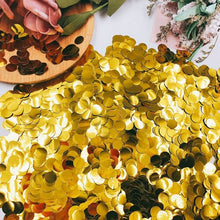 1cm 10g/bag Paper Confetti Mix Color for Wedding Birthday Party Decoration Round Sequin Confetti For Balloons - Kesheng special effect equipment