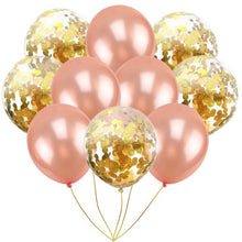 10pcs/set 12inch clear confetti pearl latex balloons romantic Valentine's Day decor air balloons wedding birthday party supplies - Kesheng special effect equipment