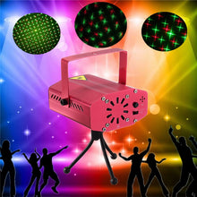 LED Stage Light Auto/Voice Music Laser Projector Stage Lighting Effect for DJ Disco Christmas Party Decor AC110-240V - Kesheng special effect equipment