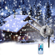 Christmas Snowflake Laser Light Snowfall Projector IP65 Moving Snow Outdoor Garden Laser Projector Lamp For New Year Party Decor - Kesheng special effect equipment