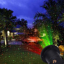Outdoor Lawn Lamp Moving Full Sky Star Laser Projector Light Christmas Garden Decoration Home Landscape Lamp LED Stage Light - Kesheng special effect equipment
