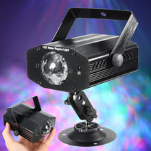 3W RGB 7 Color Remote Control LED Laser Projector Stage Light Water Wave Effect Light Club Bar DJ KTV Disco Party Lamp - Kesheng special effect equipment