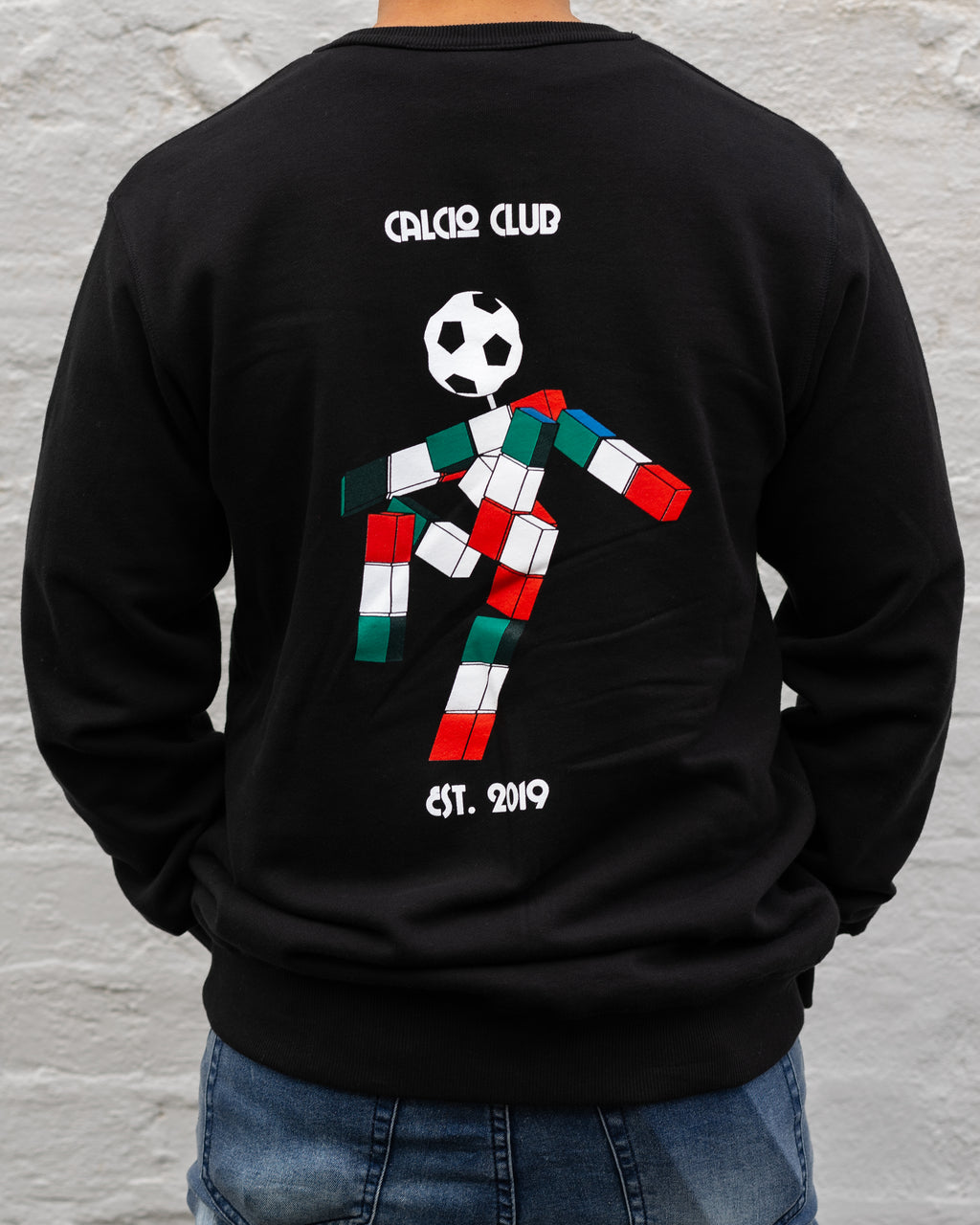 Calcio 90 Crew Neck