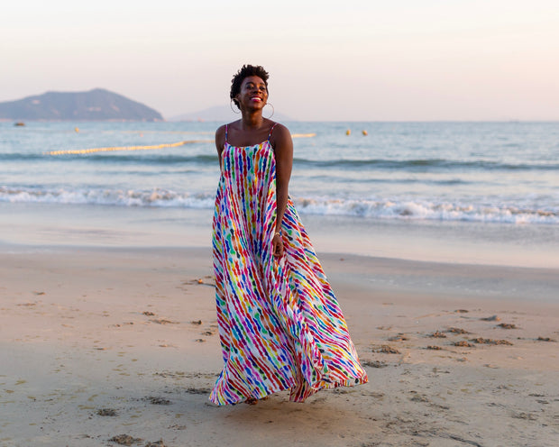 Labadi Breeze Maxi Dress (Petite & Short Length)