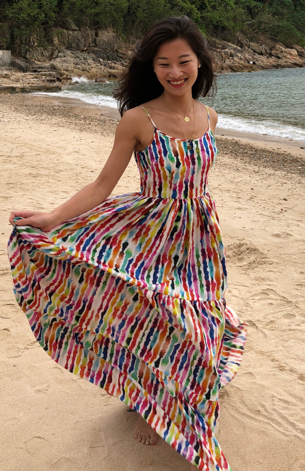 Lumley Lush Tiered Maxi Dress (Petite & Short Length)
