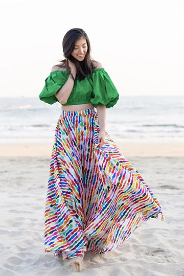 Assinie Sway Maxi Skirt (Petite & Short Length)