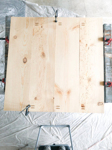 DIY Farmhouse Tabletop, 1x10s, Clamps, Wood Glue