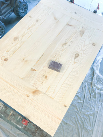 DIY Farmhouse Tabletop, 3M Sanding Block, Woodworking