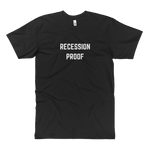 Recession Proof Tall Tee Black