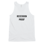 Recession Proof Tank White