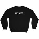 Champagne Showers Sweatshirt Black