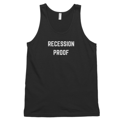 Recession Proof Tank Black