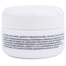 Load image into Gallery viewer, Simply Dana Eye Restoration Cream - Vitamin K, DCX & Arnica - Remove Dark Circles 0.5 oz (15g)