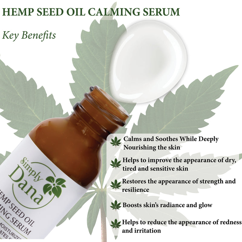 Simply Dana Hemp Seed Oil Calming Serum