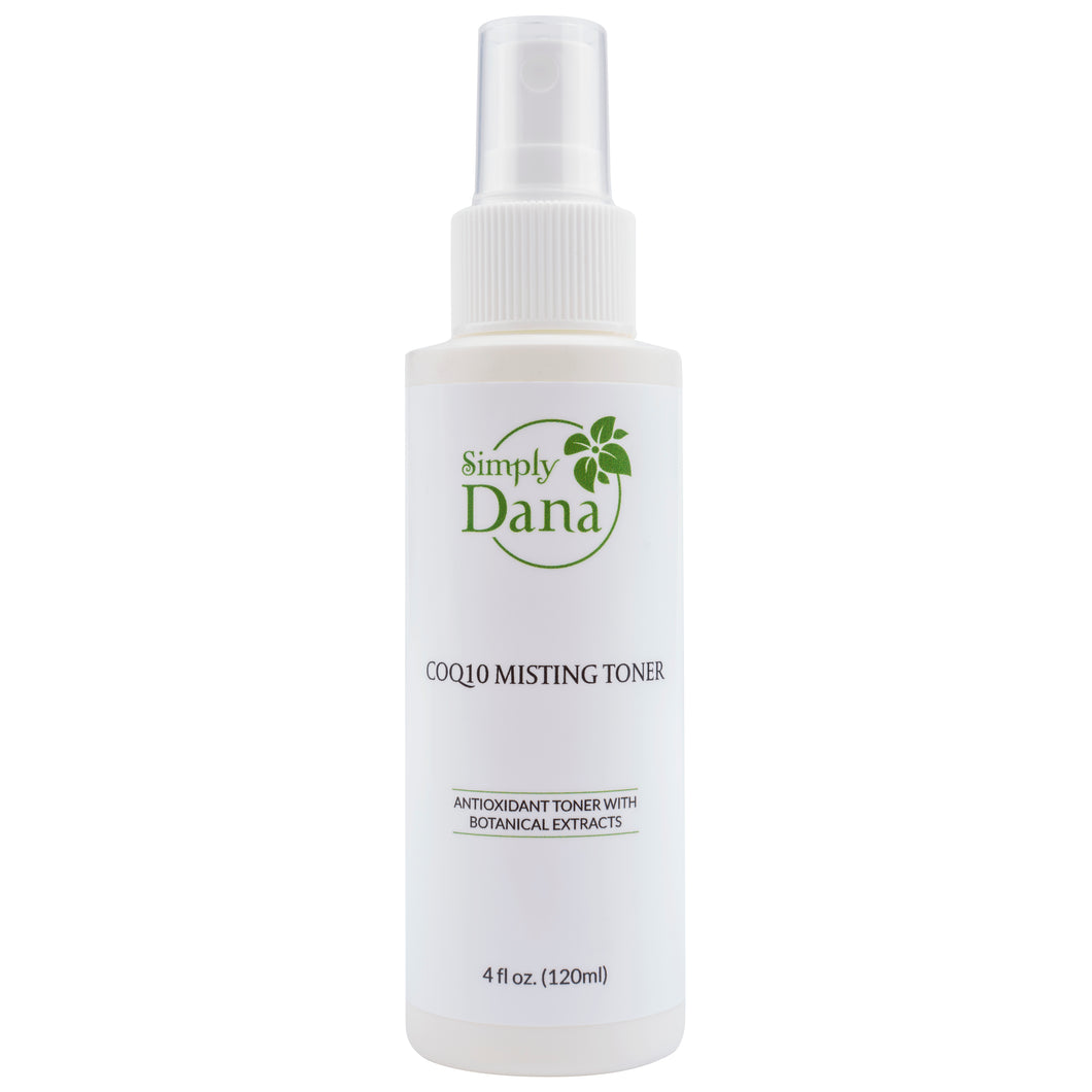 Simply Dana CoQ10 Misting Toner Antioxidant Toner with Botanical Extracts 4 fl. oz. (120ml)