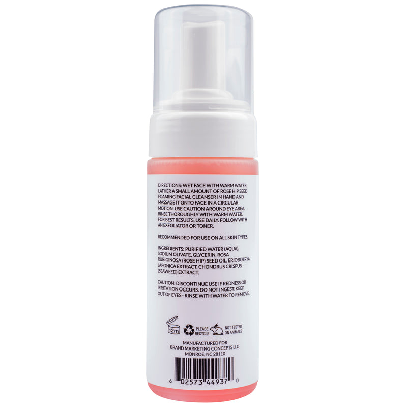 Simply Dana Rose Hip Seed Foaming Facial Cleanser 4 fl oz. (120ml)