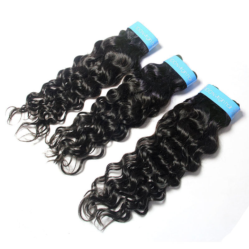 Malaysian Virgin Remy Human Hair Italian Curly 3 Bundles vendor | TENLON